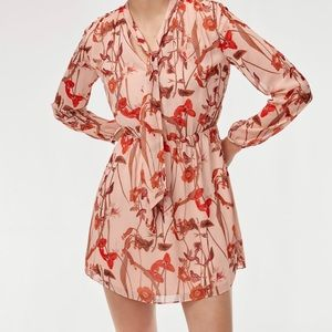 Aritzia Saffron Dress